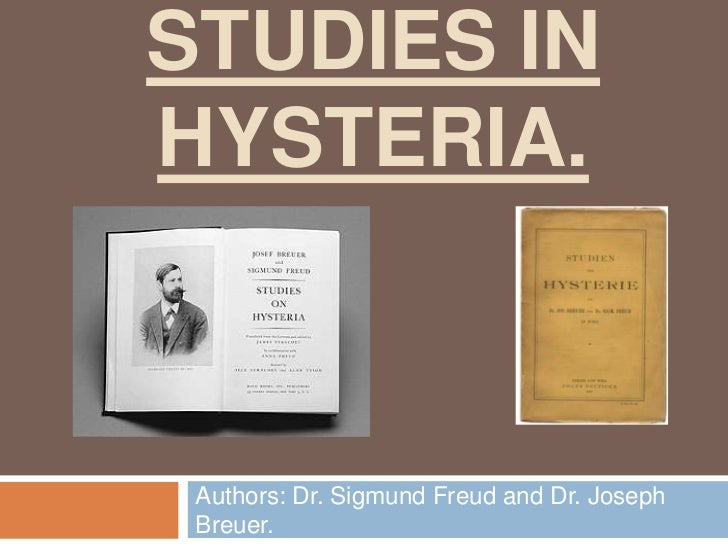 Studies in hysteria complete
