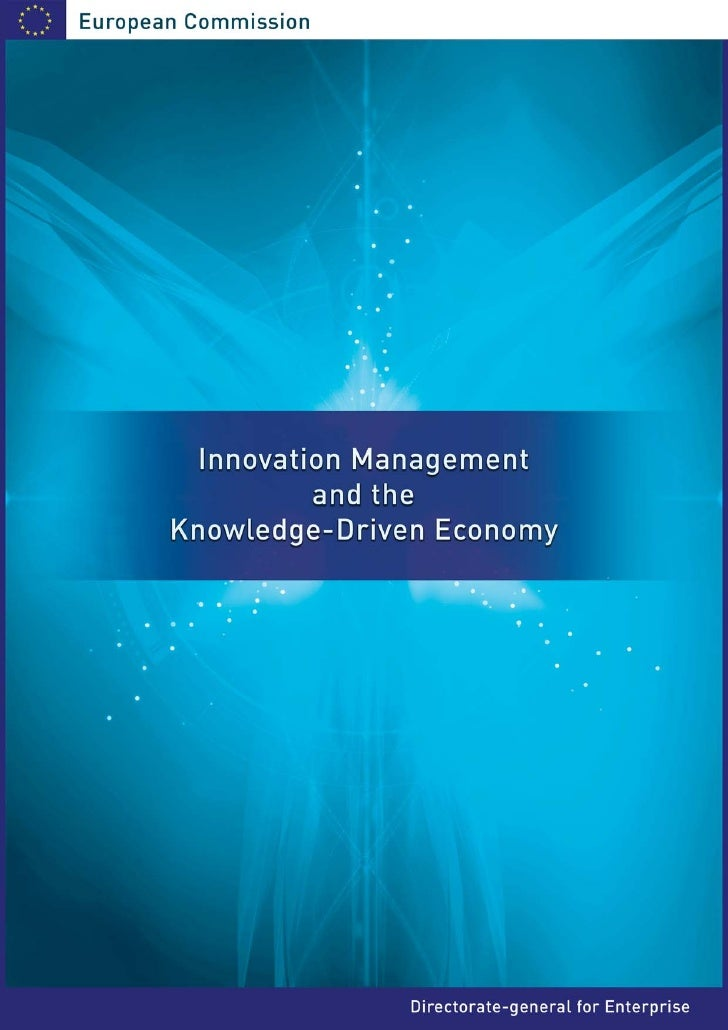 Innovation Management and the Knowledge - Driven Economyt_final_report