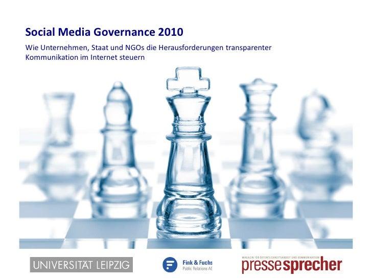 Studie social media_governance_2010_-_studienergebnisse