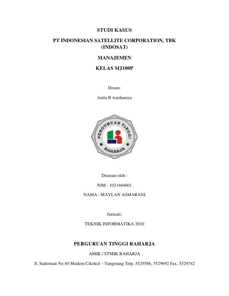 Studi kasus manajemen IBU ANITA