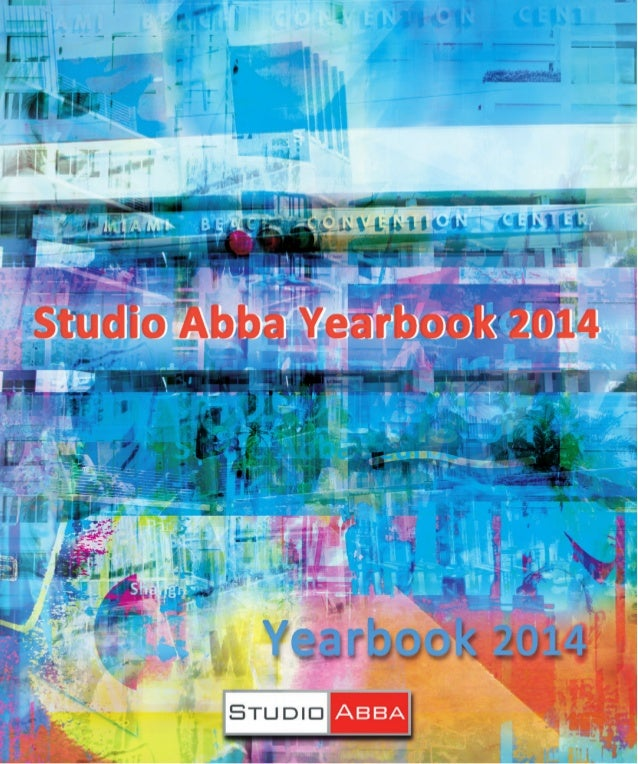 The latest contemporary artists' catalogue - Studio Abba Yearbook 2014