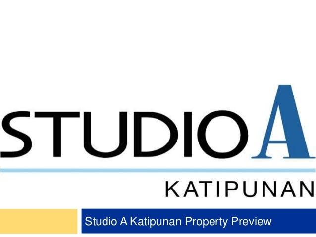 Studio A Katipunan Property Preview