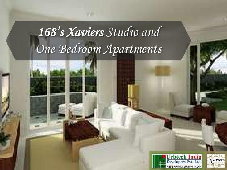 Urbtech 168's Xaviers Noida; Studio and one bedroom apartments in Noida