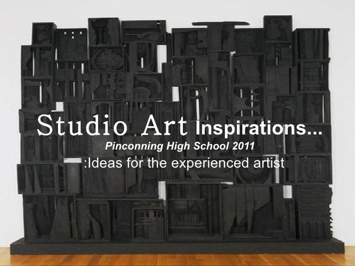 Studio art inspiration
