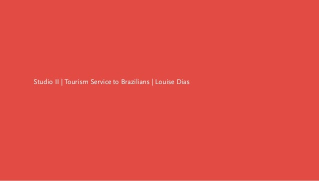 Project: Tourism service to brazilians