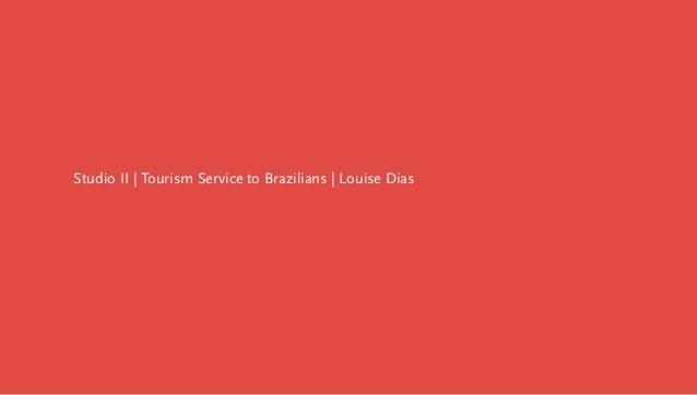 Project: Tourism service to brazilians