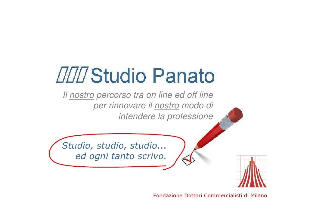 Studio Panato - commercialista web mktg