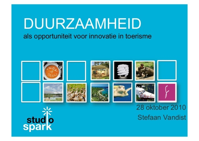 Studio Spark Sustainable Innovation in tourism
