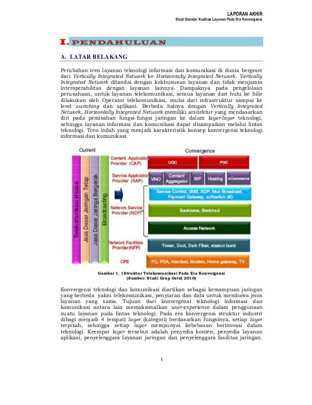 Studi qo s konvergensi 2011
