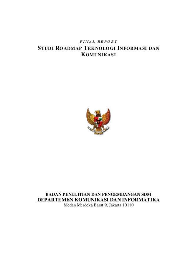 Studi roadmap tik 2005