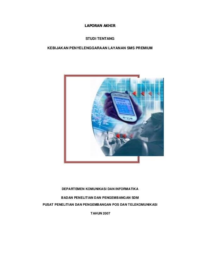 Studi sms premium 2007