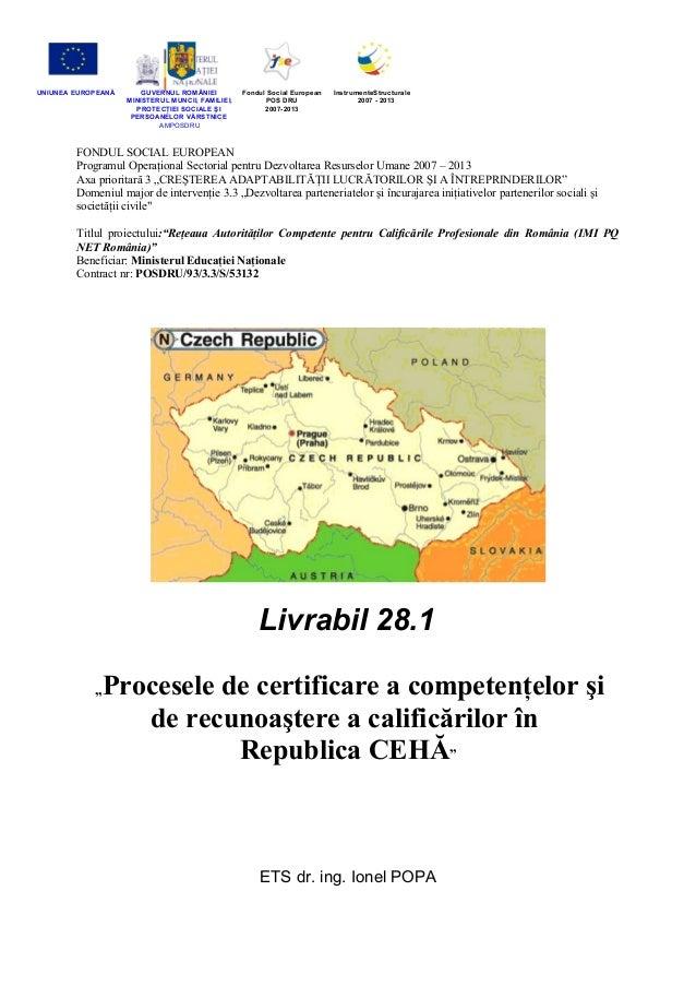 UNIUNEA EUROPEANĂ  GUVERNUL ROMÂNIEI MINISTERUL MUNCII, FAMILIEI, PROTECŢIEI SOCIALE ŞI PERSOANELOR VĂRSTNICE AMPOSDRU  Fo...