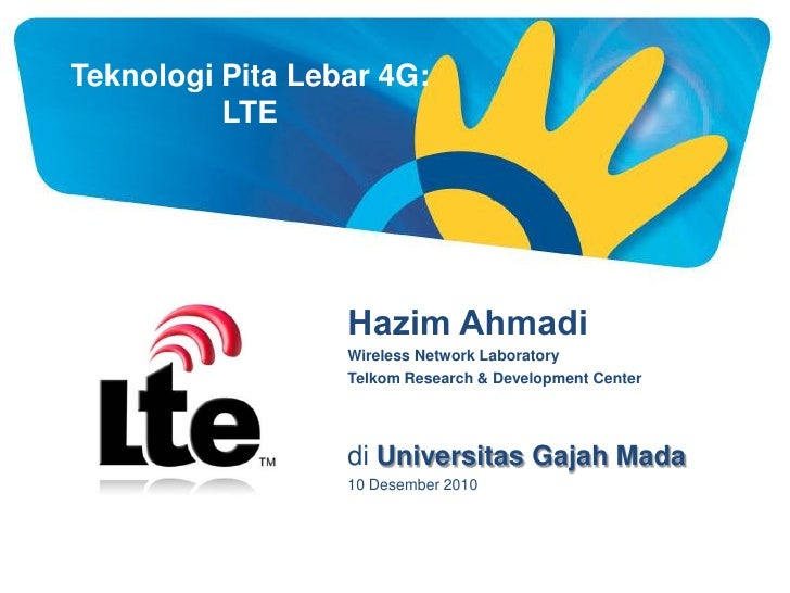 Teknologi Pita Lebar 4G LTE