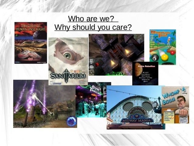 Who are we?Why should you care?