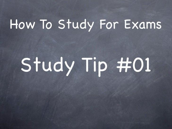 Study Tip # 01: Question / Answer Reflex