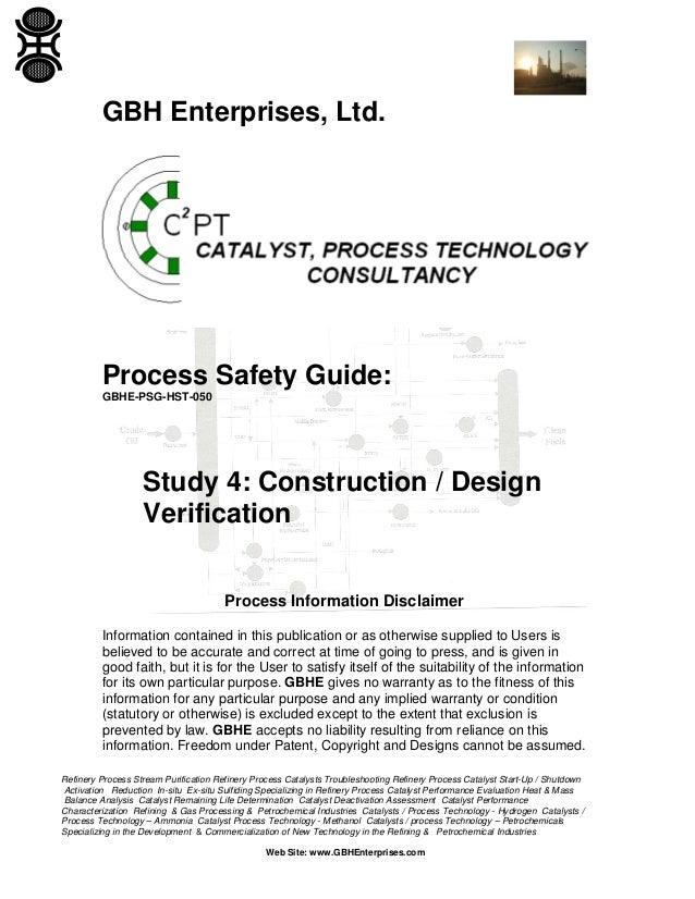 Study 4: Construction / Design Verification