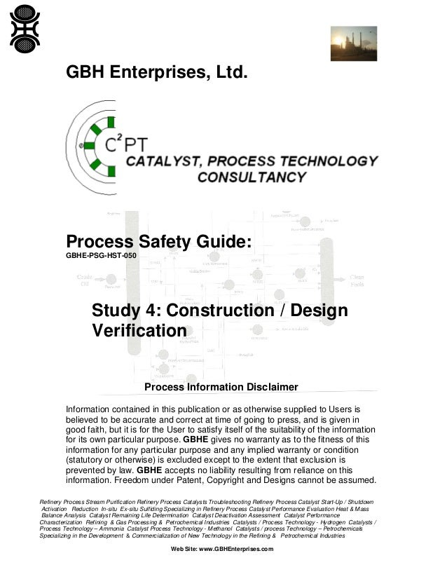 Study 4: Construction / Design Verification