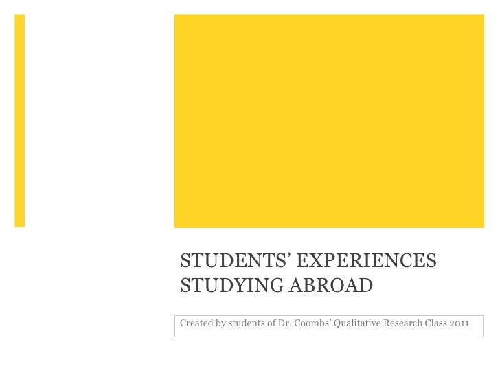 Kent State University Study Abroad Program