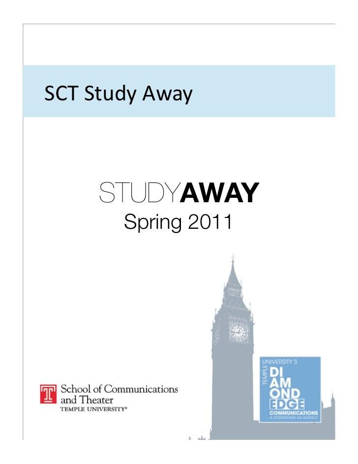 SCTStudyAway     STUDYAWAY       Spring 2011                      1