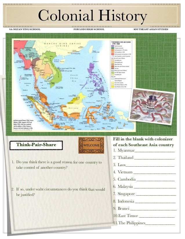 Study guide colonization updated