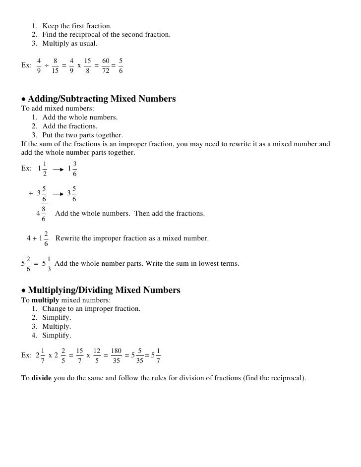 Accuplacer Math Study Guide - Cameron University