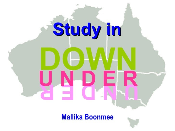 Study In Downunder