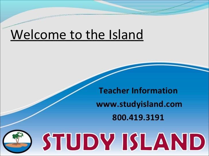 Study island presentation for summer school
