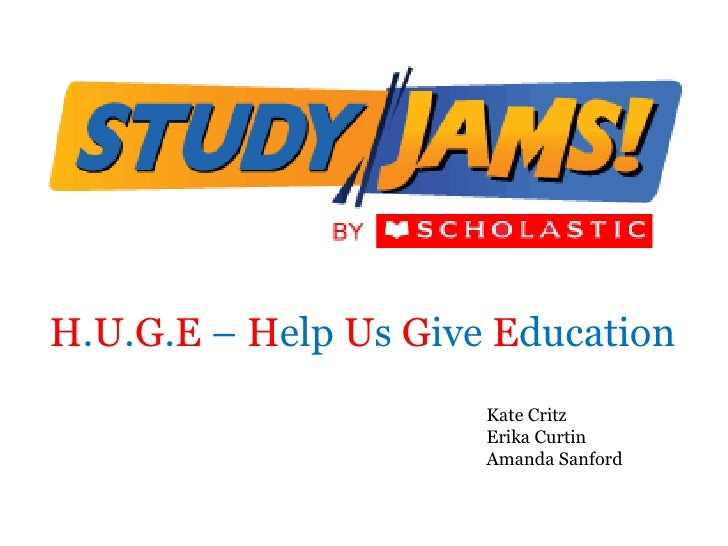 Study Jams!