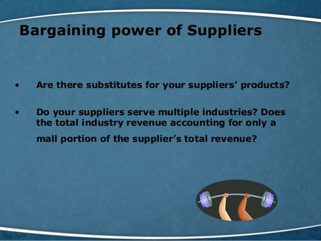 bargaining power of suppliers retail industry malaysia The automotive industry globally is a multi-billion dollar industry,  five forces of the automotive industry marketing essay  bargaining power of suppliers.