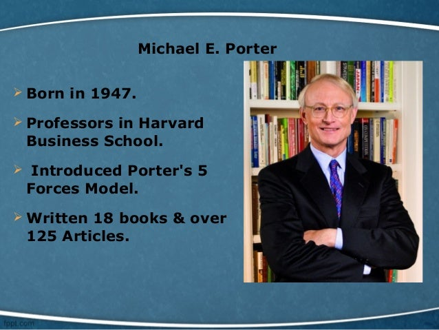 michael porters research project on the Michael e porter is a leading authority on competitive his research on economic development in america's inner cities led to the founding of the initiative for.