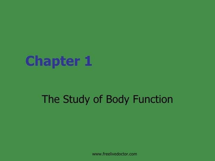 Study Of Bodyfunction