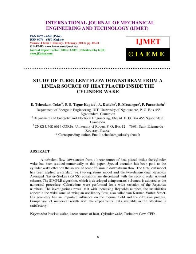International Journal of Mechanical Engineering and Technology (IJMET), ISSN 0976 –           INTERNATIONAL JOURNAL OF MEC...