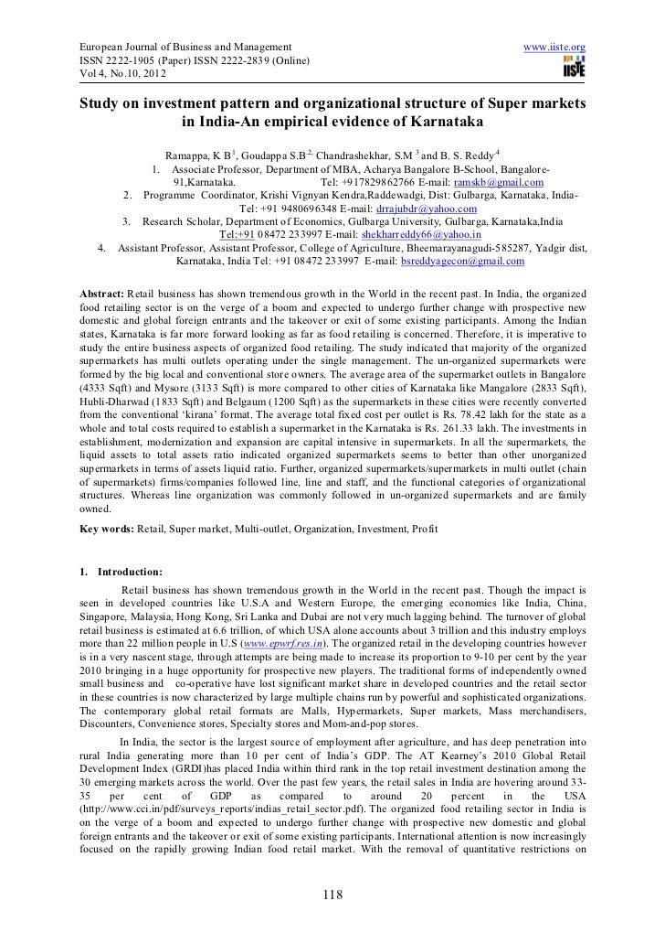 European Journal of Business and Management                                                          www.iiste.orgISSN 222...