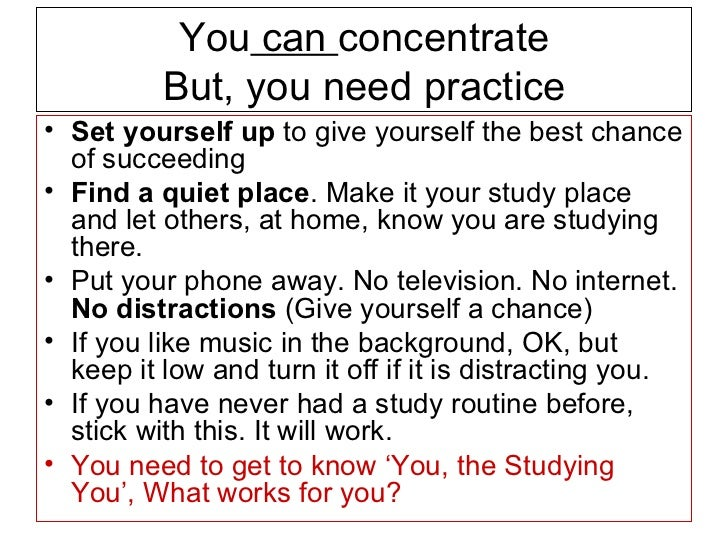 Activities to increase attention span in adults