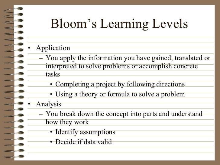 levels of critical thinking basic complex commitment There was no question that arthur's basic skills in these connections form the foundation of commitment to future learning and foster critical thinking.