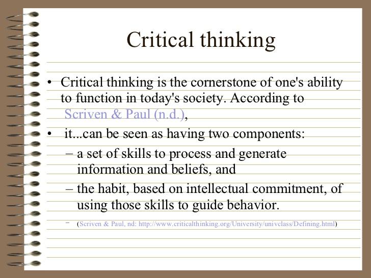 Critical thinking essays in nursing - Buy Original Essays online