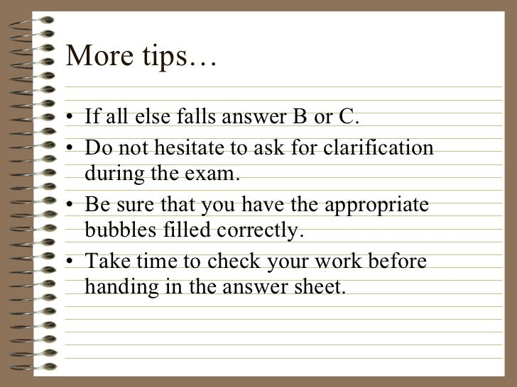 What is the best way to study for a test that is all short answer and essay?