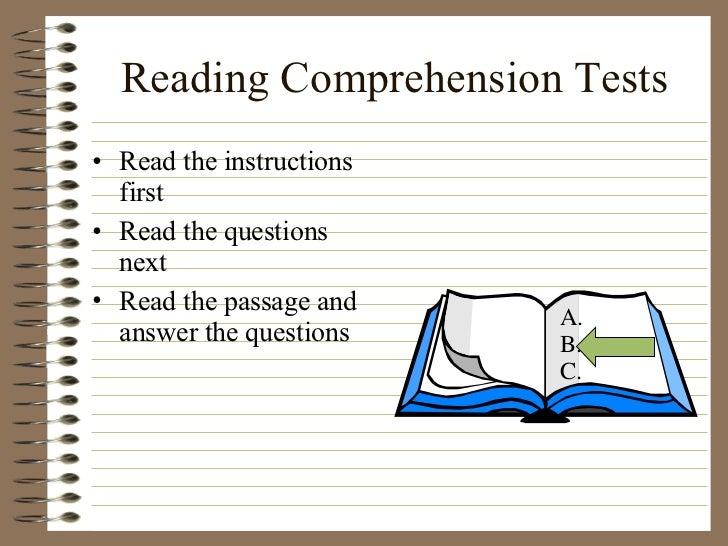 essay reading comprehension test Amazoncom: gre reading comprehension & essays (manhattan prep gre strategy guides) (9781937707880): manhattan prep: books.