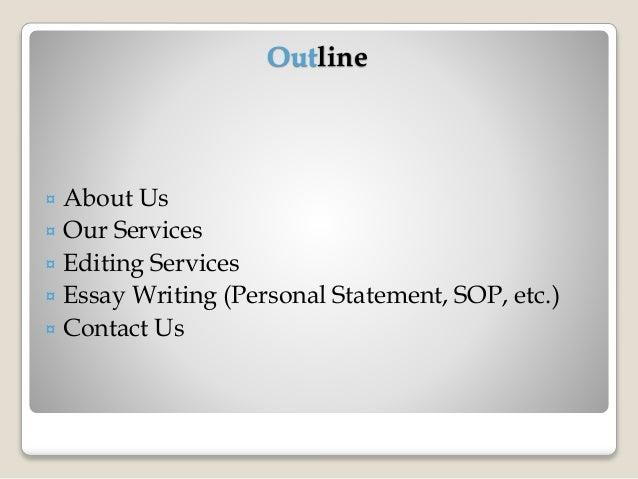 Application essay writing service