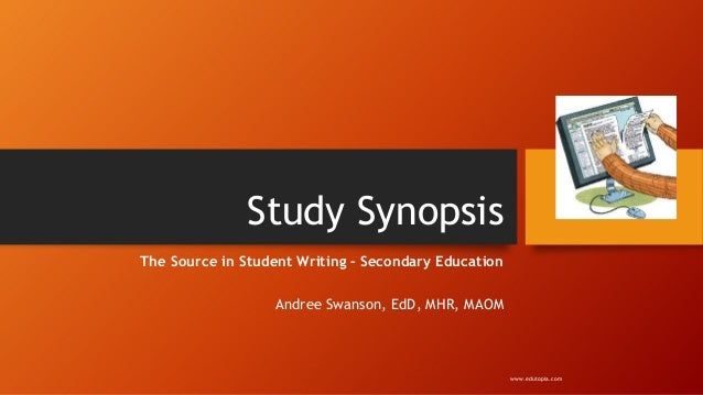 Study SynopsisThe Source in Student Writing – Secondary EducationAndree Swanson, EdD, MHR, MAOMwww.edutopia.com