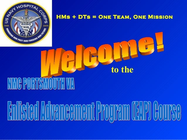 to the HMs + DTs = One Team, One Mission