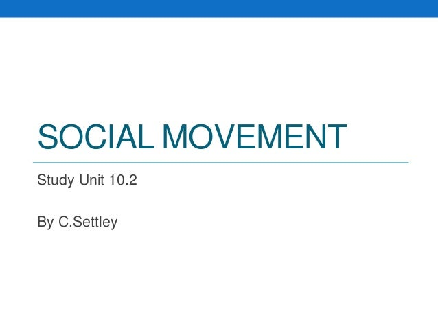 a study of social movements Methods of social movement research is an exciting book with a contributor roster of the leading movement scholars active today each chapter offers detailed information on how to apply the particular method under review along with pertinent examples from the existing movements literature.