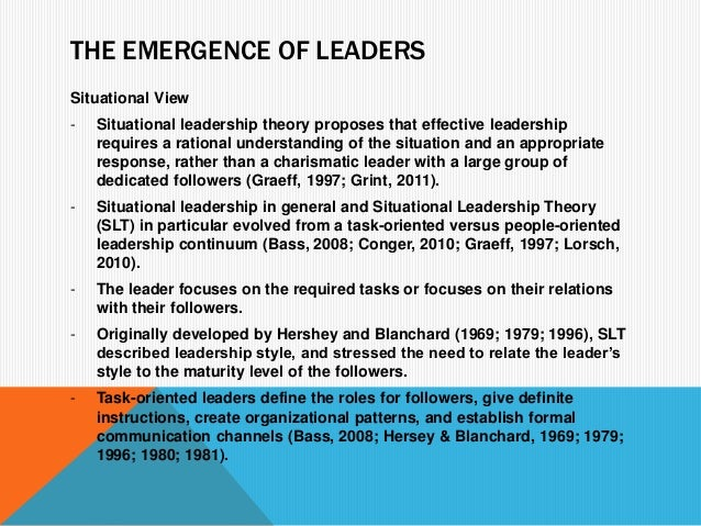 task oriented vs relationship oriented leader The results indicated connections between task-oriented leadership style and early experiences: insecurely attached leaders are at risk of not being considered good.