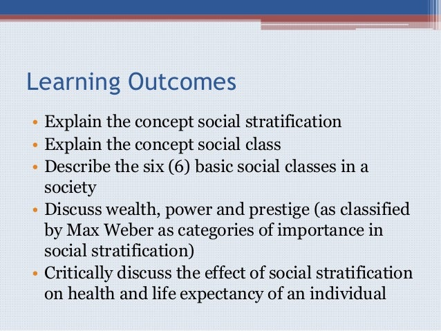 the affect of social class on