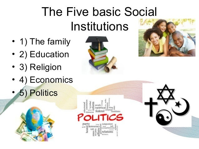 Social Institutions?