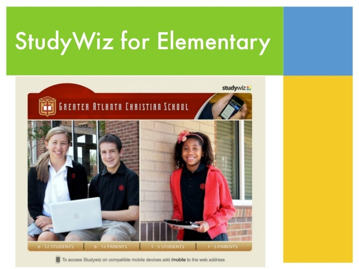 StudyWiz for Elementary