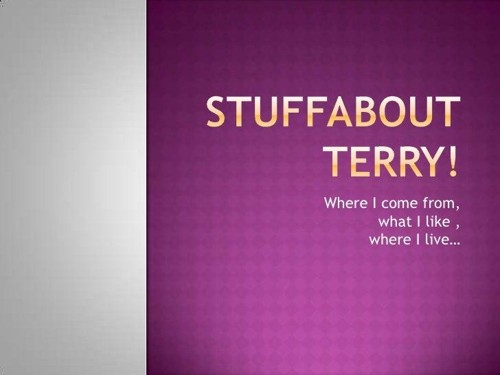 Stuffabout