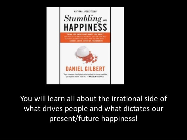 Stumbling on Happiness by Daniel Gilbert (2007, Paperback) - In Hebrew