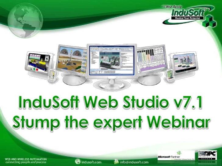 InduSoft Application Building Webinar