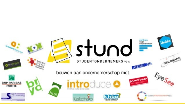 STUND - Studentondernemers
